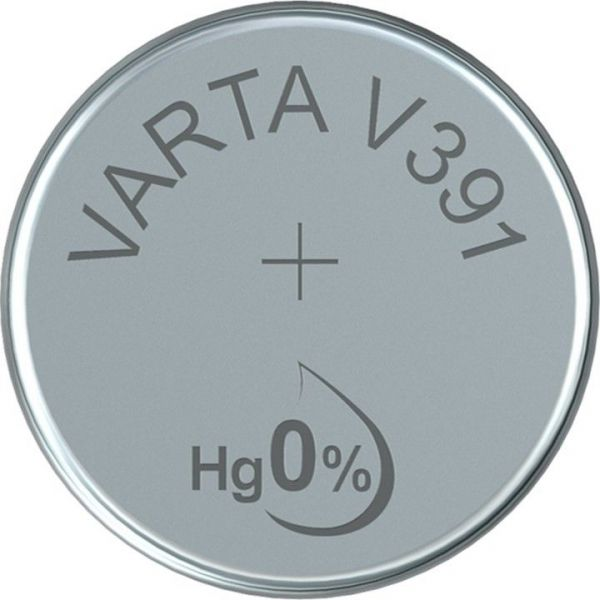 SR55 (V391) - Silberoxid - Knopfzelle für Uhren